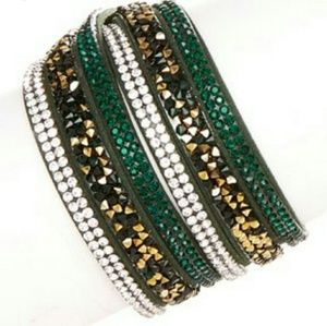 Jamierocks Crystal Wrap Bracelet